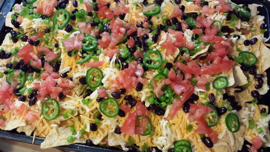 nachos2 Luxurious Low Cal Cheesy Nachos